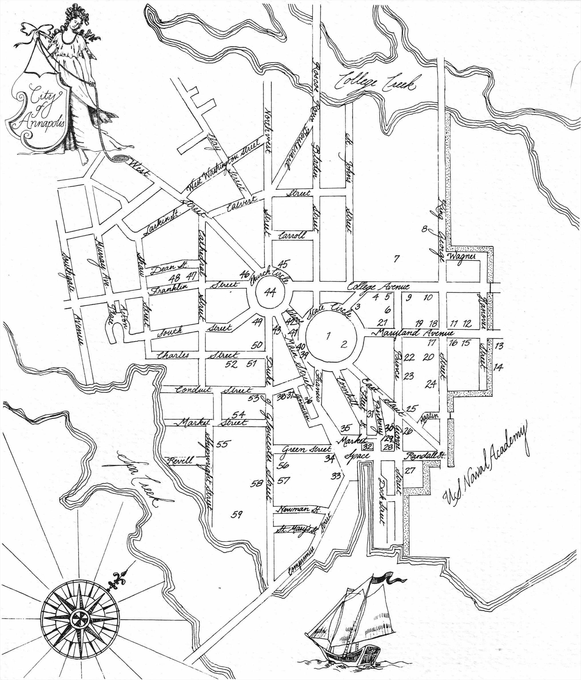 Annapolis-Map