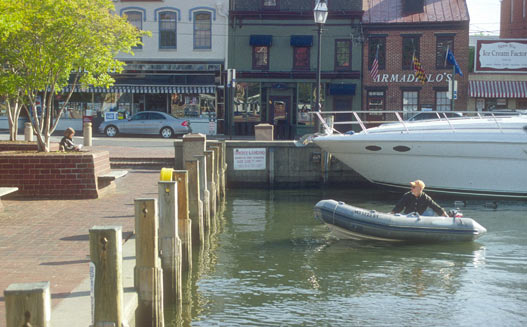 Annapolis dock today