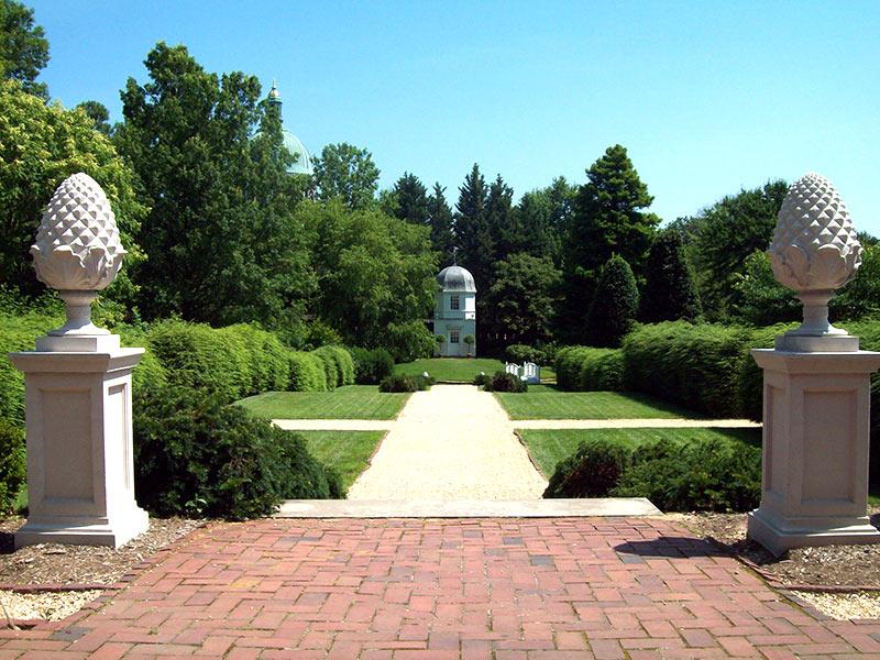 Paca House Garden July 2009