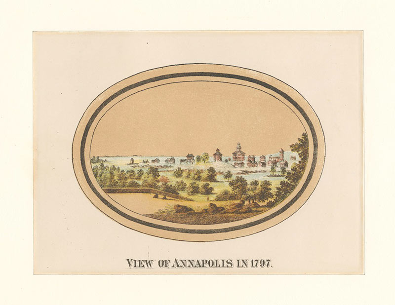 View of Annapolis in 1797